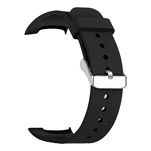 Price comparison product image ShaoshaoSamsung Gear Fit 2 / Fit 2Pro Sport Soft Silicone Wirstband Replacement Strap (Black)