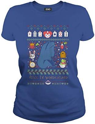 Zoko Apparel Alice in Wonderland Christmas T-Shirt