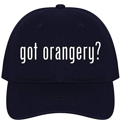The Town Butler got Orangery? - A Nice Comfortable Adjustable Dad Hat Cap, Navy