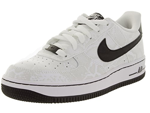 Nike Kids Air Force 1 Premium (gs) Basketbalschoen Puur Platina / Zwart-wit-wit