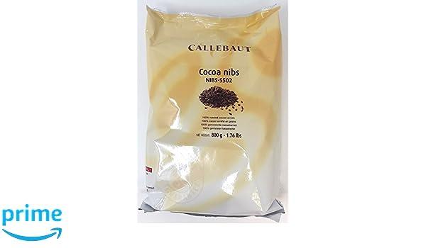 Callebaut - Trozos de Cacao Toastados (cocoa nibs): Amazon.es: Alimentación y bebidas