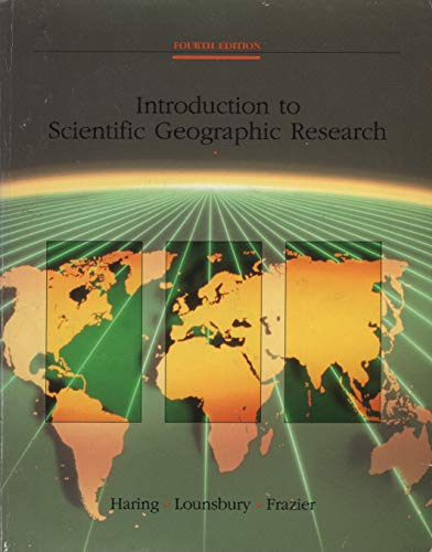 An Introduction to Scientific Geographic Research