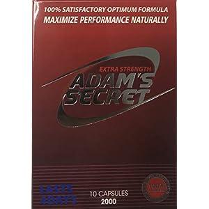 Adams Secret 2000, Natural Male Enhancing Pills, Energy and Stamina, Increase Performance,- 10 Capsules Per Pack natural male enhancing - 41x1NmUyfyL - natural male enhancing