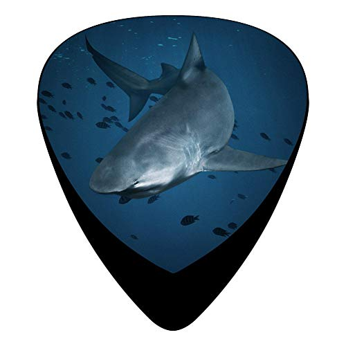 Wonderful Undersea Shark Guitar Picks Personalized Fashion Celluloid Plectrums 12-Pack