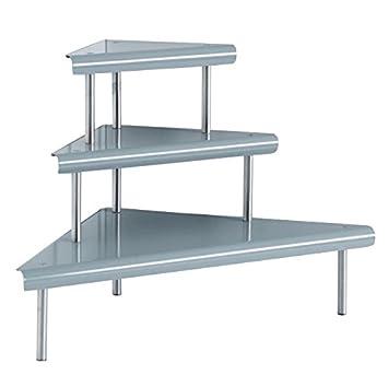 estante de esquina niveles para cocina bao o despacho ideal para ganar