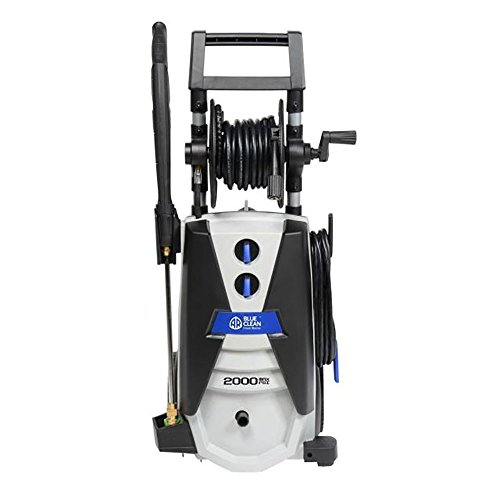 Annovi Reverberi AR Blue Clean AR390SS 2000 psi Electric Pressure Washer with Spray Gun, Wand, 30'...