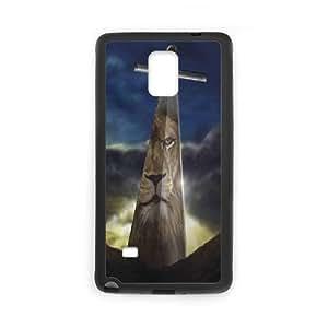Fggcc Lion Cross Pattern Hard Back Case for Samsung Galaxy Note 4,Lion Cross Note4 Case (pattern 14)