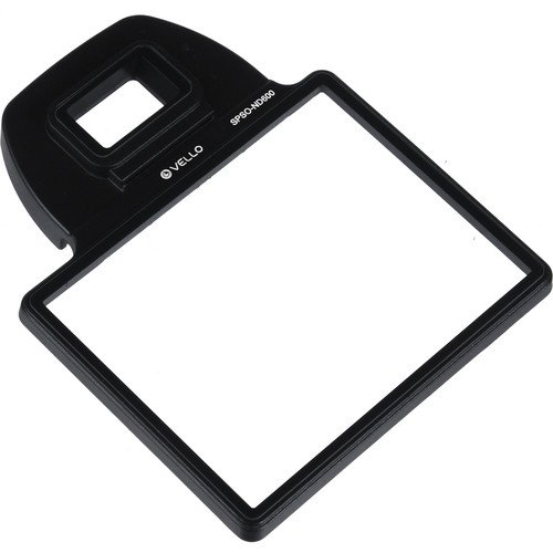 Vello Snap-On LCD Screen Protector for Nikon D600 & D610(6 Pack) by Vello