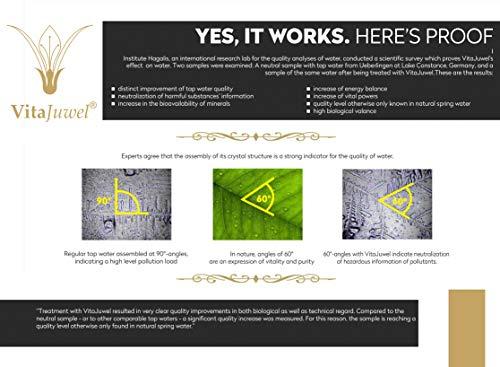 VitaJuwel Era GemWater Decanter and Crystal Gemstone Vial - Guardian by VitaJuwel (Image #7)
