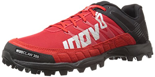 Inov-8 Mudclaw 300 Trail Running Shoe, Black/Red, 11.5 C US by Inov-8