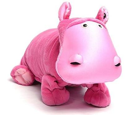 ZOOBIE Peluche, Cojin y Manta (Hada la Hipopótama)