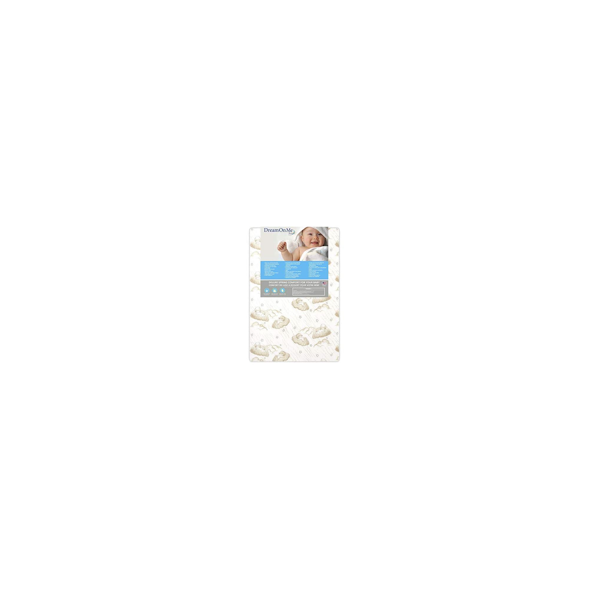 Dream On Me 3″ Spring Coil Mini / Portable Crib Mattress, (Model: 23)