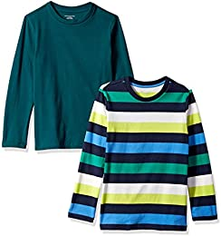 Boys 2-Pack Long-Sleeve Tees
