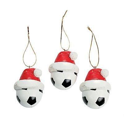 Soccer Ball Christmas Ornaments 2 Dozens by ADVENTURER'S BAG