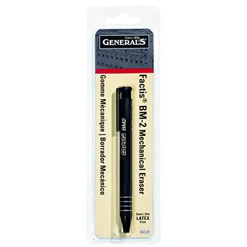 Generals Eraser - General Pencil CO. GPBM2-BP Factis Pen Style Eraser Carded