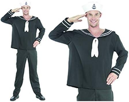 Juguetes Fantasia - Disfraz marinero adulto hombre: Amazon.es ...