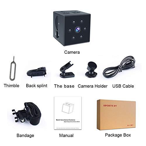 Small Spy Camera, PinLife Mini Spy Camera HD 1080P Portable Small Camera HD Nanny Cam with Night Vision and Motion Detection Cop Cam Mini Camera Home Surveillance Hidden Cameras