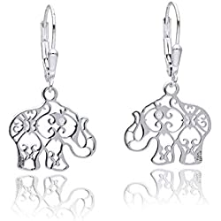 Tanya Moss Earrings for Women, Silver, Talismanes