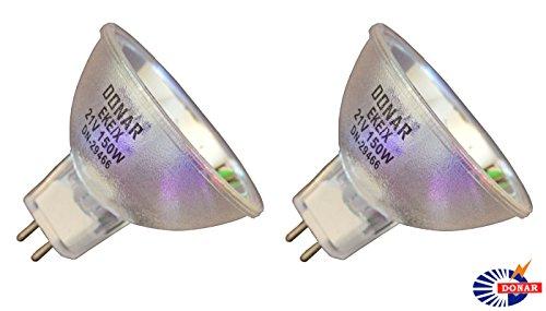 2pcs EKE /X 21v 150w Long Life Donar Bulb - Wallaby Blanket Fiberoptic Phototherapy Blanket Jaundice Bilirubin Xl95035 - SCI CAN Dual-lux Ii III Illuminator Lz Dual Lux 2 Lux 3 Illuminator Lamp
