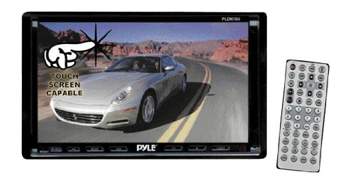Pyle PLDN70U Double DIN Motorized Touchscreen