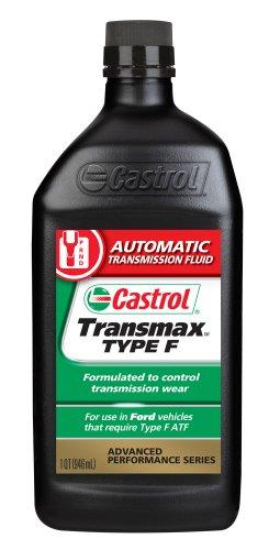 Castrol 6816 Transmax Type F ATF, 1 Quart, Pack of 6