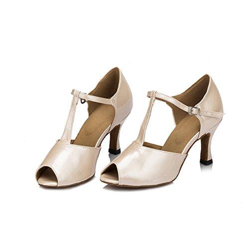 Minitoo ,  Damen Tanzschuhe , beige - beige - Größe: 35