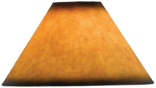 Cal Lighting SH-1071 12-Inch Side Leatherette Shade, See Image (Floor Leather Floor Lamp)