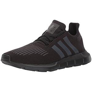 adidas Men's SWIFT RUN Shoes,Black/Utility Black/Black,9.5 Medium US