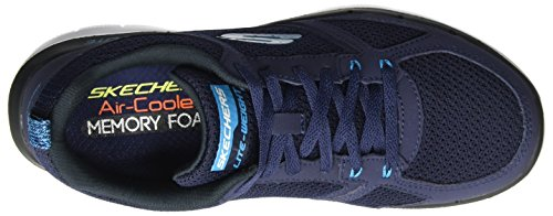 Baskets Skechers Homme Sportives 51280 Advantage Bleu 0 2 Flex Blue Navy qX16wXO