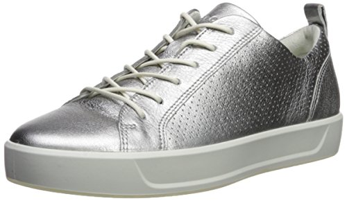 ECCO Womens Soft 8 Perforated Tie Sneaker