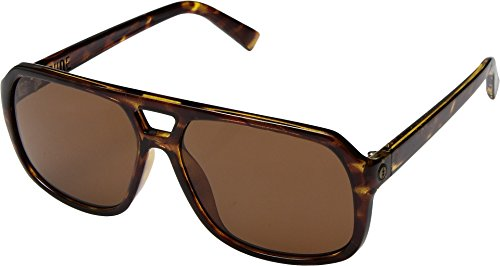 Electric Eyewear  Men's Dude Gloss Tortoise/Ohm Bronze - Sunglass Websites