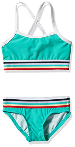 Kanu Surf Girls' Tanya UPF 50+ Beach Sport Athletic Bikini Swimsuit