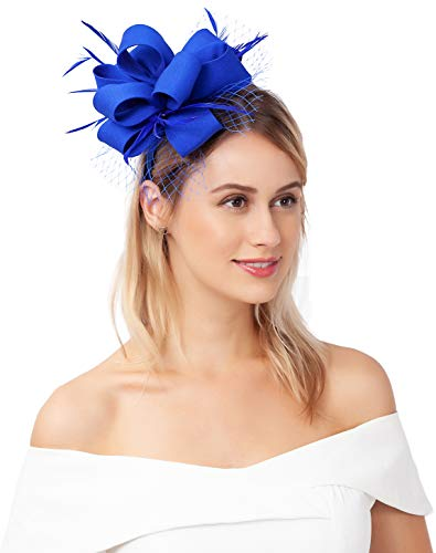Myjoyday Fascinator Hats for Women Tea Party