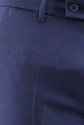 Unita In Pantalone Tasca Uomo Berwich Lana Elastico Tinta Blu America 4Iw1q0dx
