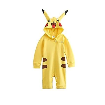 Traje infantil inspirado en Pikachu Pokemon. 0-6 meses ...