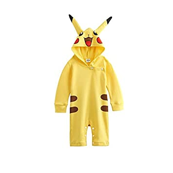 1119d1766098 Pikachu Pokemon-inspired Infant Outfit (0-6 Months)  Amazon.co.uk  Baby