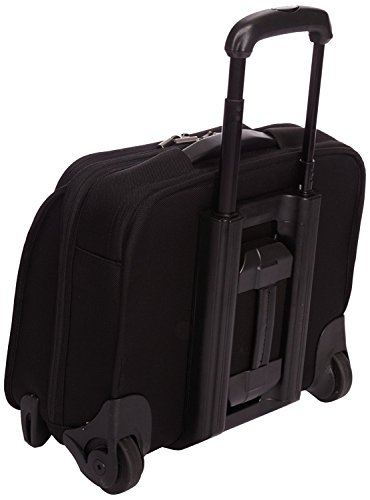 Briggs & Riley  15.4 Inch Slim Rolling Briefcase,Black,12.8x15.8x7