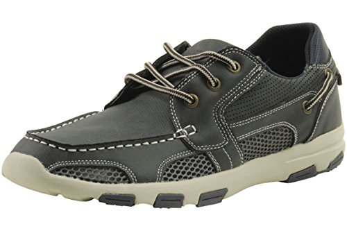 Island Surf Mens Fashion Atlantic 11305 Waterdichte Bootschoenen Marine