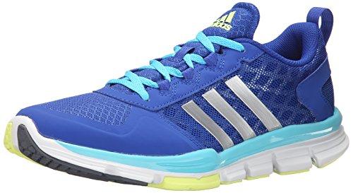 Adidas Ydeevne Kvinders Hastighed Træner 2 W Træning Sko Fed Blå / Sølv / Lys Cyan Blå mmqpSJhj4