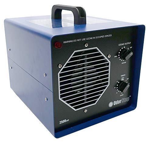 OdorStop Professional Grade Ozone Generator with UV (OS2500UV2)