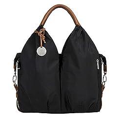 Lassig Glam Collection Signature Shoulder Bag Tote Hand-bag, Navy