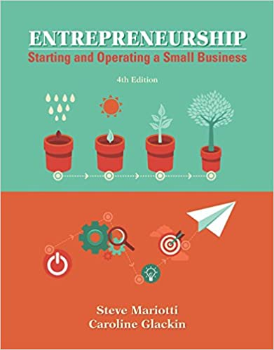 Amazon entrepreneurship starting and operating a small amazon entrepreneurship starting and operating a small business ebook steve mariotti caroline glackin kindle store fandeluxe Image collections