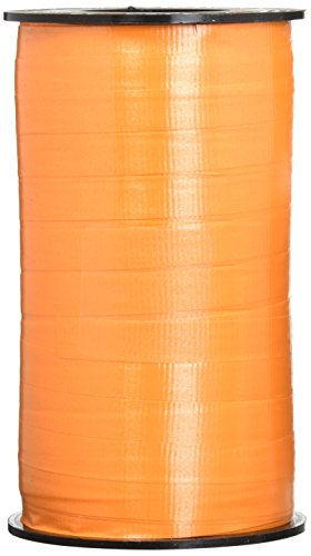 - Berwick 3 11 3 11 3/8-Inch Wide by 250 Yard Spool Super Curl Crimped Splendorette Curling Ribbon, Tropical Orange