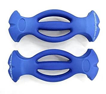 Fácil agarre mancuernas espuma luz agua piscina acuática mano boya artritis 6046: Amazon.es: Deportes y aire libre