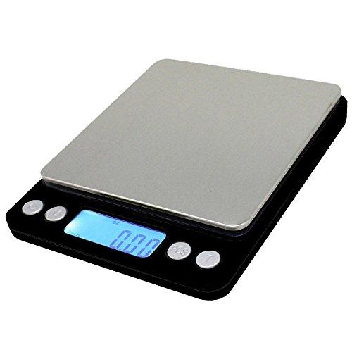 Spirit 0.01oz/0.1g 3000g Digital Multifunction Pocket Scale with Back-Lit LCD Display