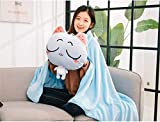 KOSBON 4 in 1 Cute Cartoon Plush Stuffed Animal