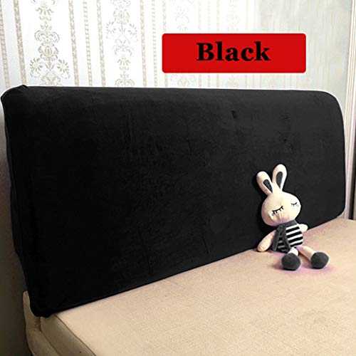WOMACO Bed Headboard Slipcover Protector Stretch Solid Color Dustproof Cover for Bedroom Decor (Length (59-67