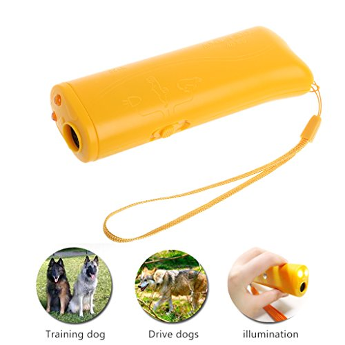 Price comparison product image Dog repellent,NNDA CO 3 in 1 Ultrasonic Anti Bark Stop Barking Dog Training Repeller Control Trainer