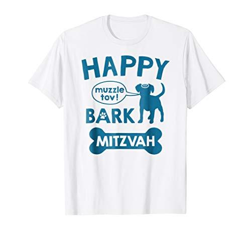 Bark Mitzvah T-Shirt Jewish Dog Lover Bar Mitzvah Shirt Gift