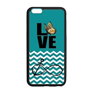 "19 Customized Anchor Infinity Love Diy Design For iPhone6 Plus 5.5"" Hard Back Cover Case GP-714"
